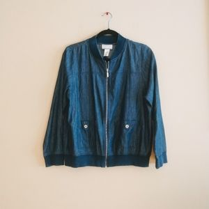 Alfred Dunner Women's Denim Jacket 12P